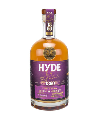 Hyde No. 5 - 6yr Burgundy Finish Irish Whiskey