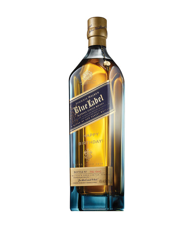Johnnie Walker Blue Label® - 'Happy Birthday!' Engraved Bottle