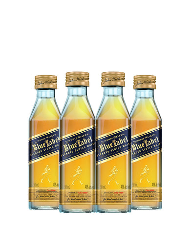 Johnnie Walker Blue Label® (Set of Four 50 ML Bottles)