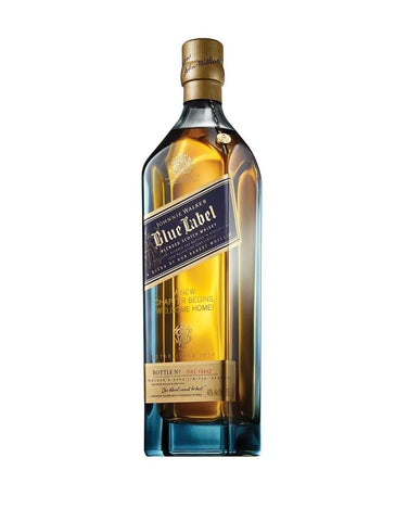 Johnnie Walker Blue Label® - 'A New Chapter Begins, Welcome Home!' Engraved Bottle