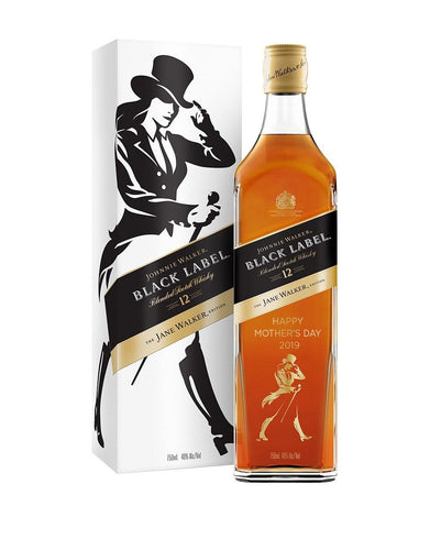 Johnnie Walker Black Label®: The Jane Walker Edition - 'Happy Mother's Day 2019' Engraved Limited Edition Bottle