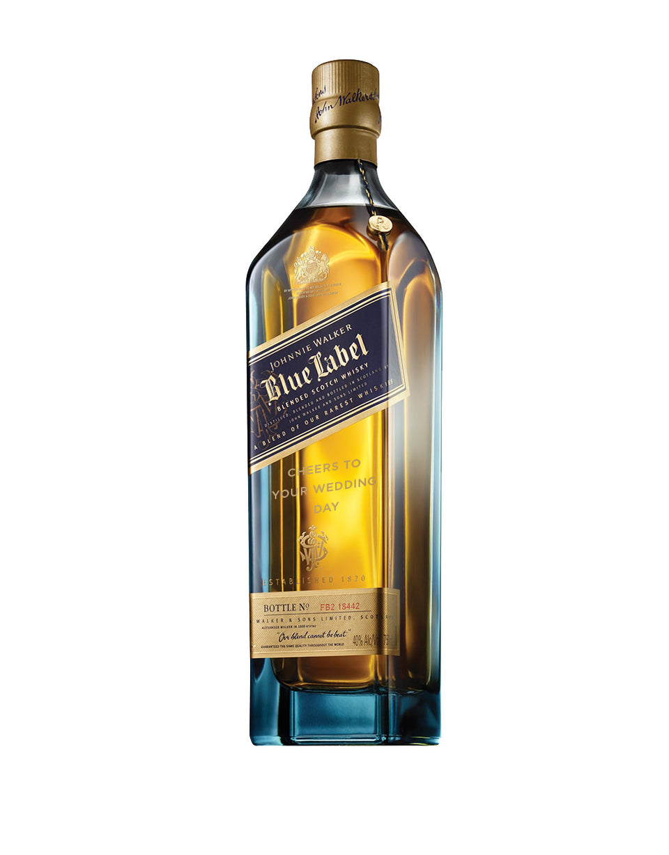 Load image into Gallery viewer, Johnnie Walker Blue Label® - 'Cheers to Your Wedding Day' Engraved Bottle