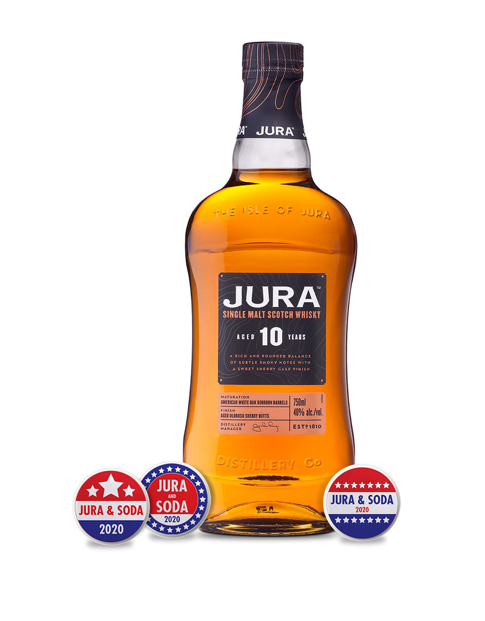 Load image into Gallery viewer, Jura 10 Year Single Malt Scotch Whisky bottle