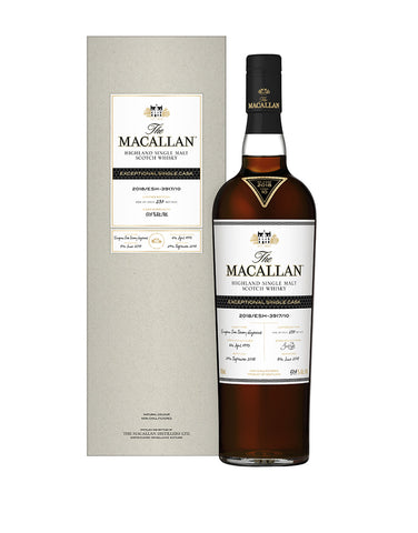 The Macallan 2018 Exceptional Single Cask No. 23 bottle