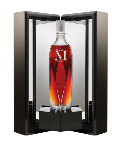 The Macallan M Scotch Whisky bottle