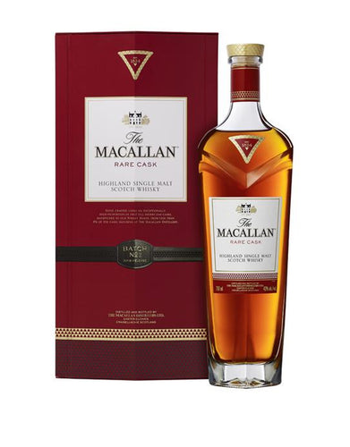 The Macallan® Rare Cask Single Malt Scotch Whisky bottle and box