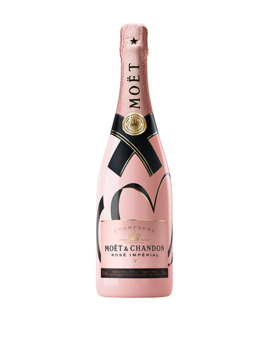 Moët & Chandon Rosé Impérial – Living Ties Bottle