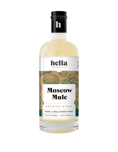 Hella Cocktail Moscow Mule Cocktail Mixer bottle