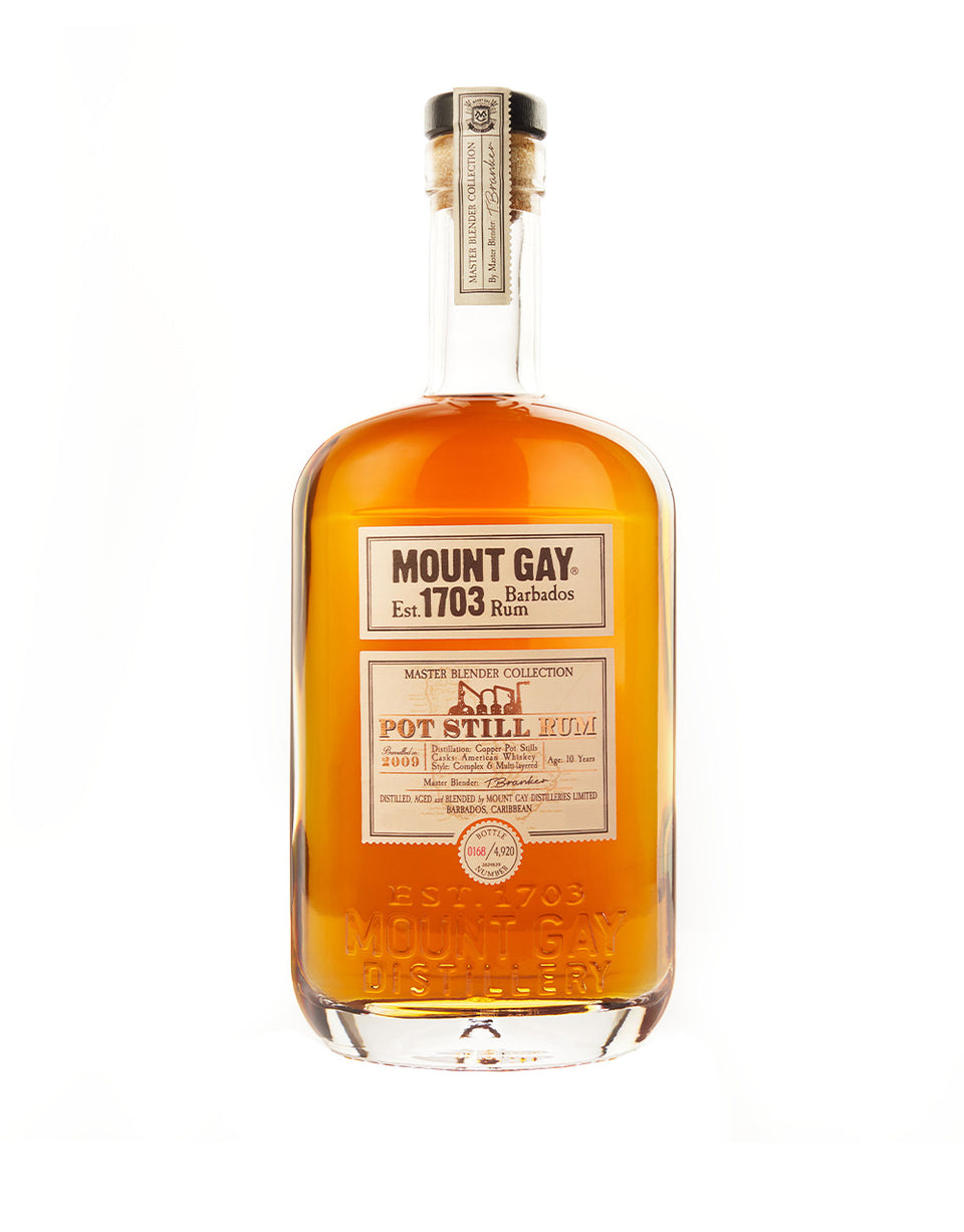 Load image into Gallery viewer, Mount Gay Pure Pot Still 2009 Rum bottle