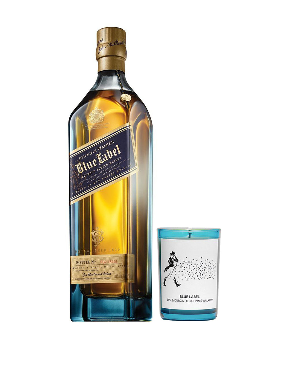 Load image into Gallery viewer, Johnnie Walker Blue Label x D.S. & Durga – Whisky & Candle Gift Set