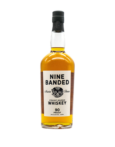 Nine Banded Straight Bourbon Whiskey