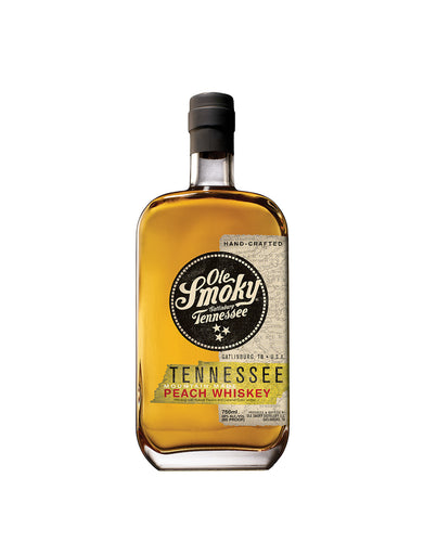 Ole Smoky® Peach Whiskey bottle