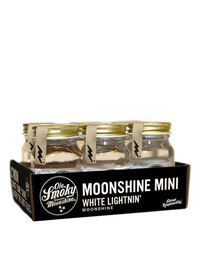 Ole Smoky® White Lightnin' Moonshine Minis