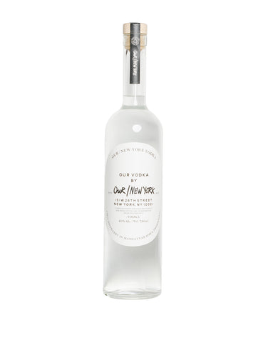 Our/New York Vodka (750ml)