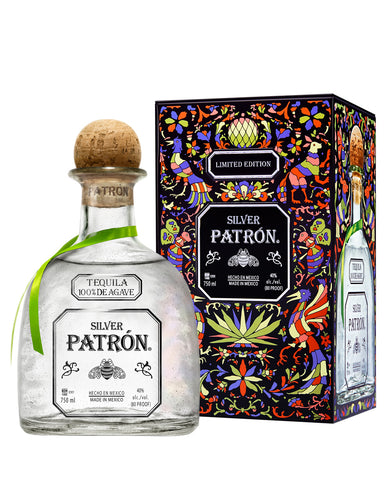 Patrón Silver Limited-Edition Mexican Heritage Tin 2019