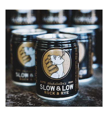 Hochstadter's Slow & Low Rock and Rye 84 proof (4 pack)
