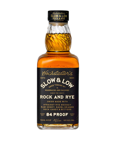 Hochstadter's Slow & Low Rock and Rye 84 proof (750ml)