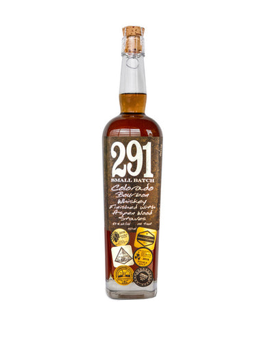 291 Colorado Bourbon Whiskey, Finished with Aspen Wood Staves, Small Batch