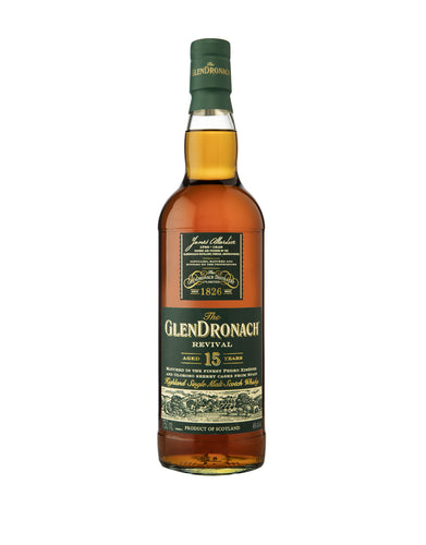 The GlenDronach Revival Aged 15 Years