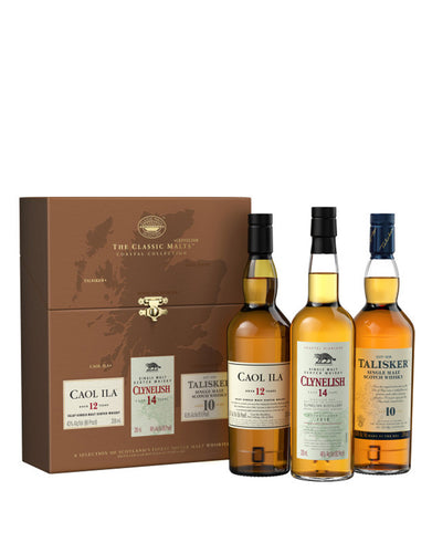 The Classic Malt Coastal Collection