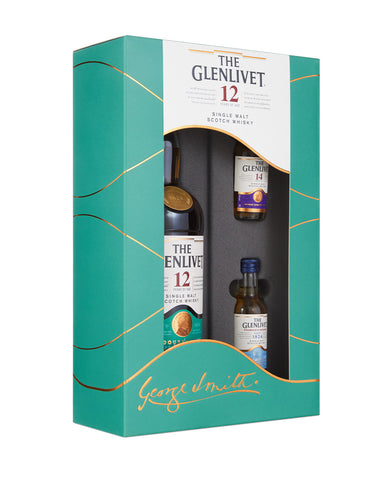 The Glenlivet 12 Year Old with Two Samples