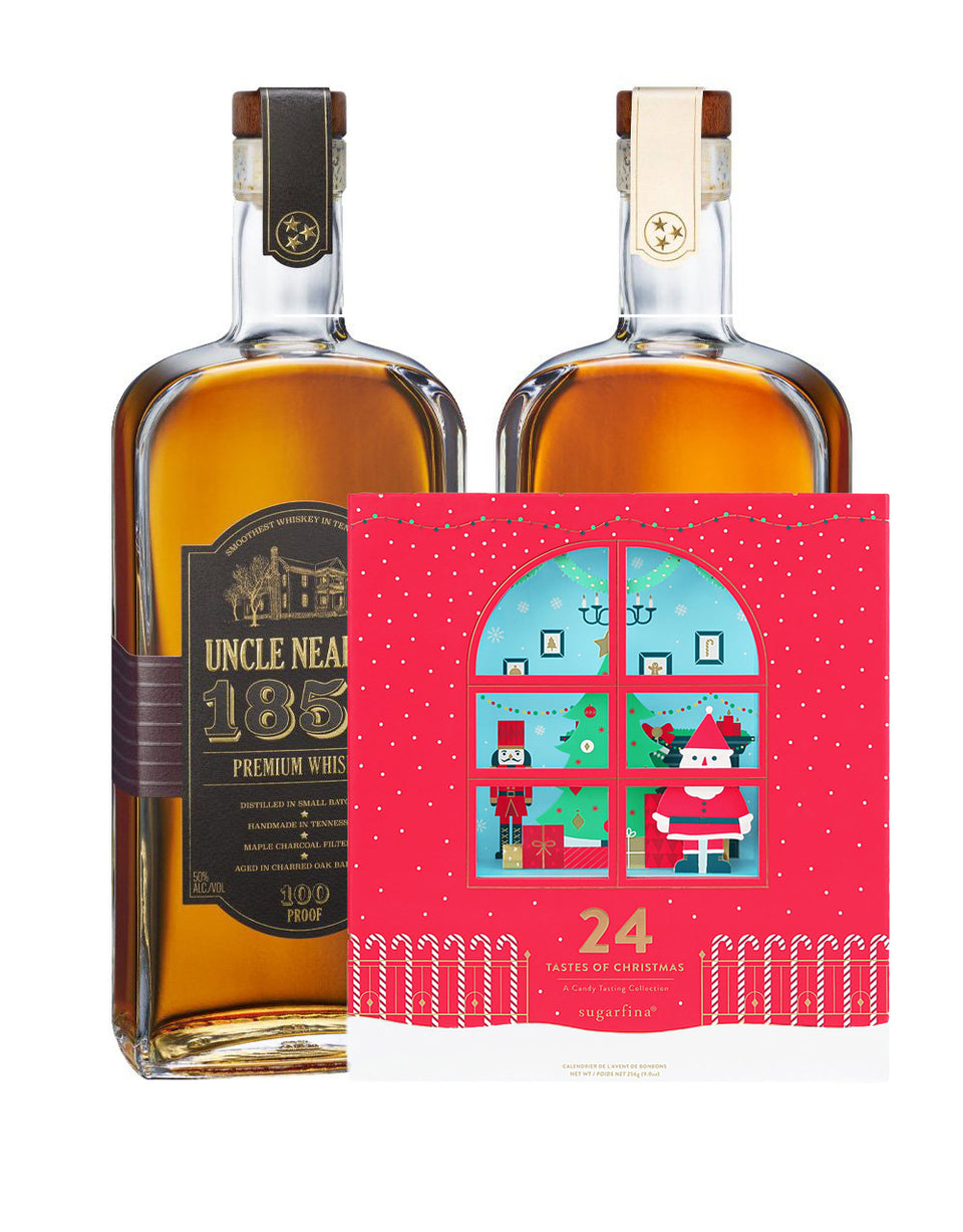 Load image into Gallery viewer, Uncle Nearest 1856 Premium Aged Whiskey & 1884 Small Batch Whiskey with Sugarfina Advent Calendar