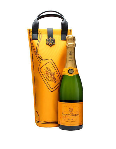 Veuve Clicquot Yellow Label with Shopping Bag