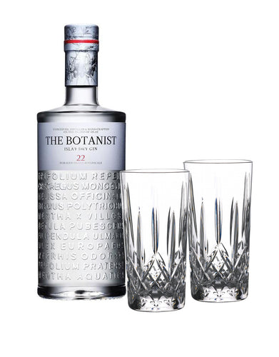 THE BOTANIST® with Waterford Gin Journeys Lismore Hiball Pair