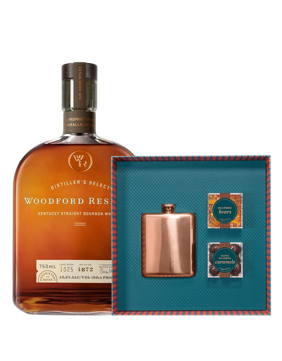 Load image into Gallery viewer, Woodford Reserve® Bourbon with Sugarfina Bourbon Collection Gift Set