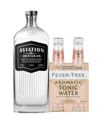 Aviation Gin with Fever-Tree Aromatic Tonic Water