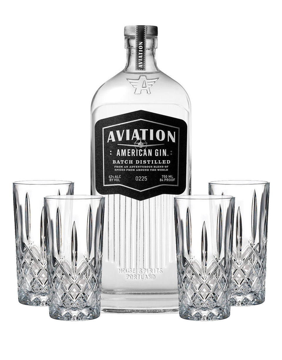 Load image into Gallery viewer, Aviation American Gin with Waterford Markham HiBall Set