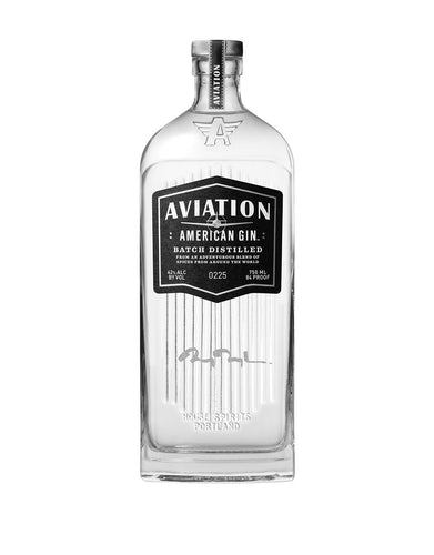 Aviation American Gin with Engraved Ryan Reynolds Signature