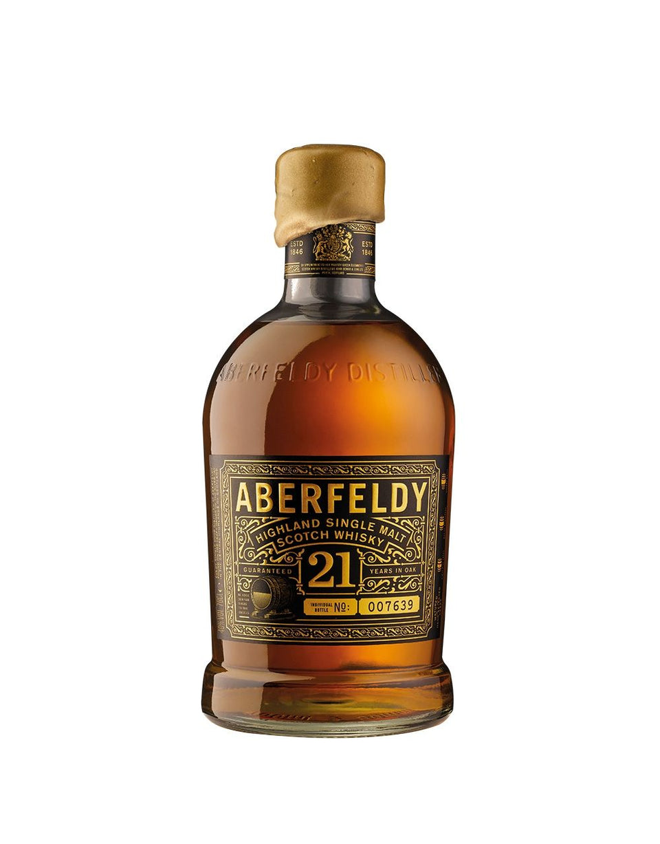 Load image into Gallery viewer, Aberfeldy 21-Year-Old Single Malt Scotch Whisky bottle