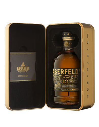 Aberfeldy Limited Edition 12 Year Old Gold Bar