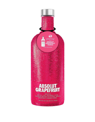 Absolut Grapefruit Holiday Sequin Bottle
