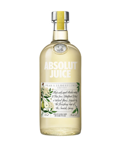 Absolut Juice Pear & Elderflower Edition bottle