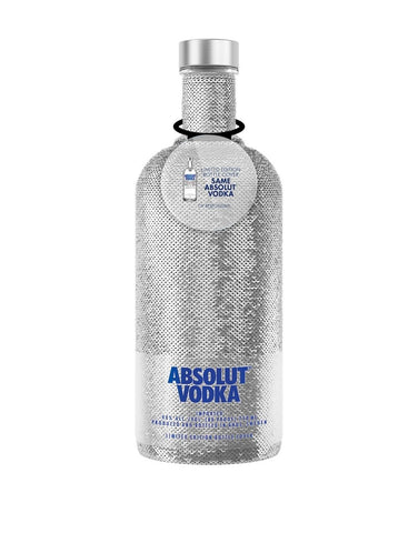 Absolut Holiday Sequin Bottle