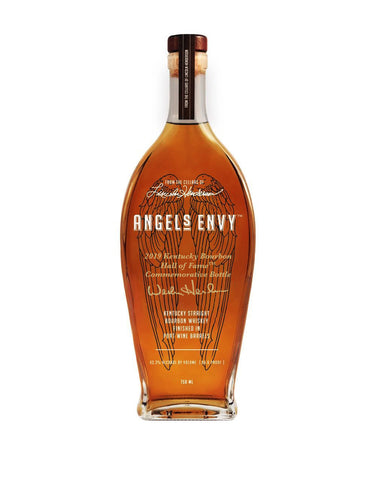 Angel's Envy Wes Henderson Engraved Signature Bourbon Finished In Port Barrels