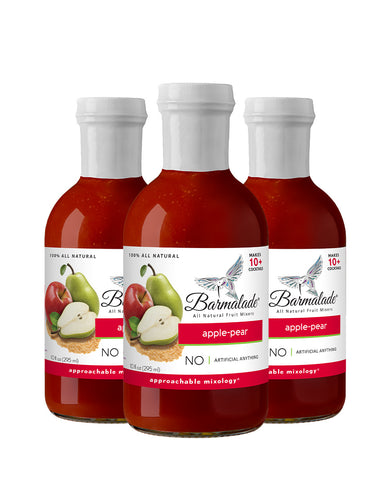 Apple-Pear Barmalade All Natural Fruit Mixer