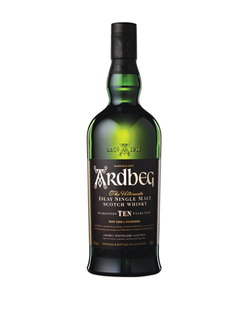 Load image into Gallery viewer, Ardbeg 10-Year-Old Single Malt Scotch Whisky bottle
