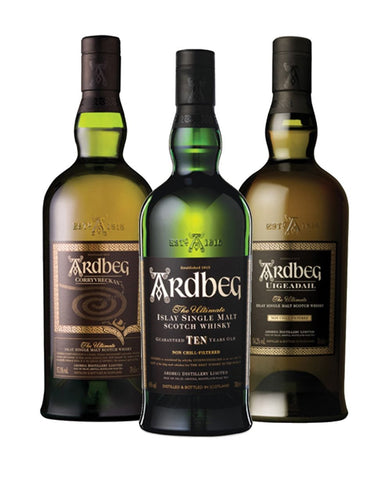 Ardbeg Collection (3 bottles)