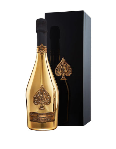 Armand de Brignac Gold Brut bottle