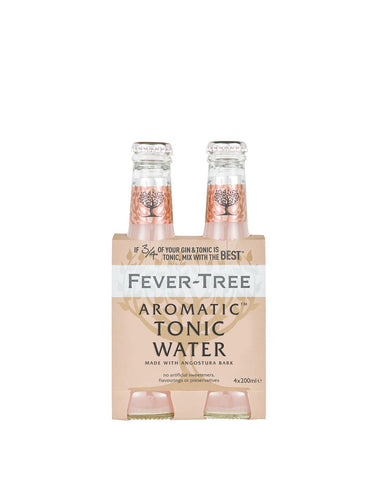 Fever-Tree Aromatic Tonic Water (4 Pack)
