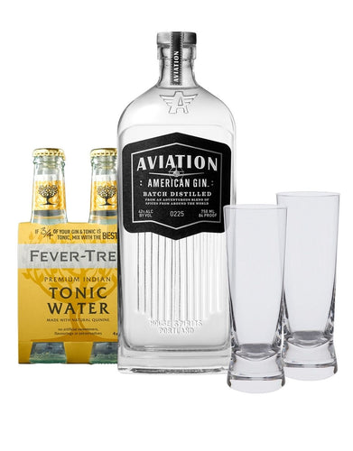 Aviation Gin Gin & Tonic Gift Set