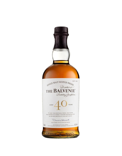 The Balvenie Forty – Aged 40 Years