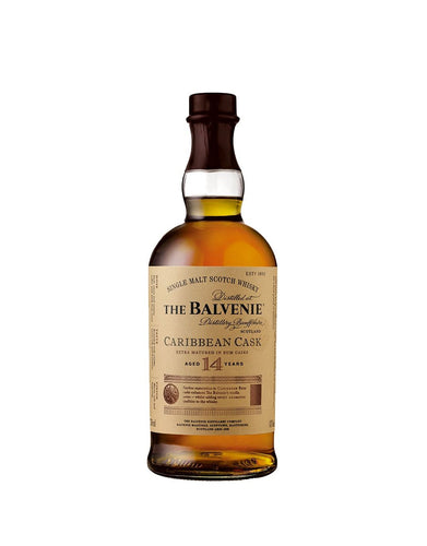 The Balvenie Caribbean Cask – Aged 14 Years