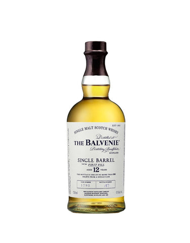 The Balvenie Single Barrel 12 – Aged 12 Years