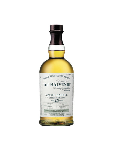 The Balvenie Single Barrel 25 – Aged 25 Years