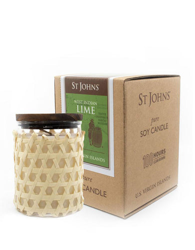 St Johns Lime Soy Candle