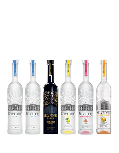 Belvedere Collection (6 bottles)